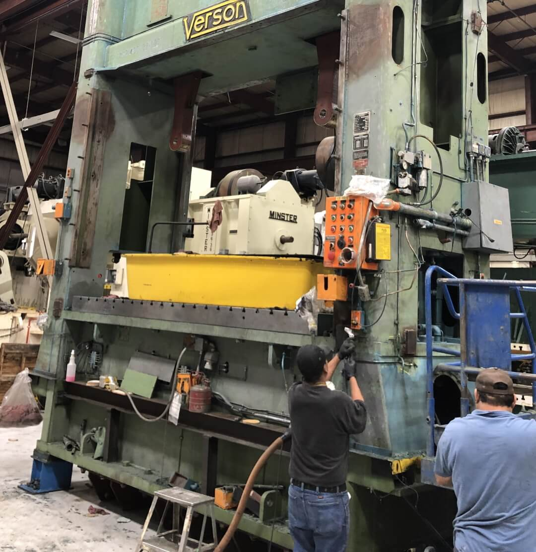 repairs and reconditioning for used machines